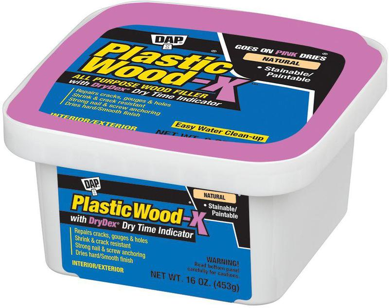 00542 16OZ PLASTIC WOOD-X