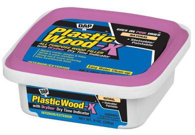 00541 8OZ PLASTIC WOOD-X