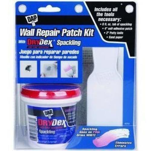 WALL REPAIR/PATCH KIT 8OZ