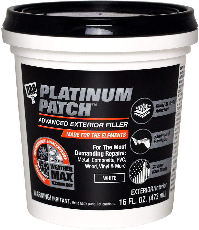 FILLER EXTERIOR WHITE 16OZ