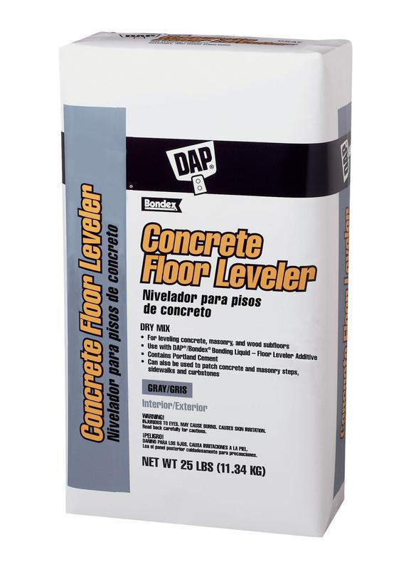 DAP Bondex Concrete Floor Leveler, 25 lb, Bag, Gray, Powder