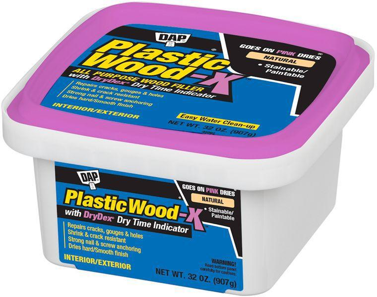 KIT REPAIR WOOD PLSTC NATL 1QT