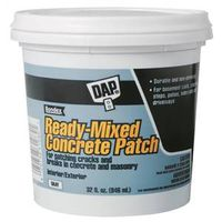 DAP Bondex Ready-to-Use Concrete Patch, 1 qt, Gray, Musty, Paste