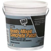 DAP Bondex Ready-to-Use Concrete Patch, 1 gal, Gray, Musty, Paste