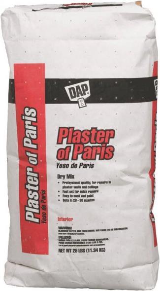 PLASTER OF PARIS DRY MIX 25LB