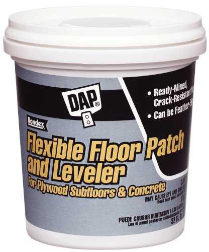 DAP� FLEXIBLE FLOOR PATCH & LEVELER, LIGHT GREY, 1 GALLON