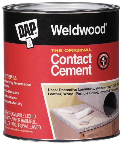 DAP� WELDWOOD ORIGINAL CONTACT CEMENT, GALLON