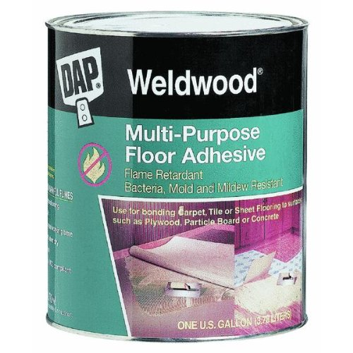 DAP� WELDWOOD MULTI-PURPOSE FLOOR ADHESIVE 4 GALLON
