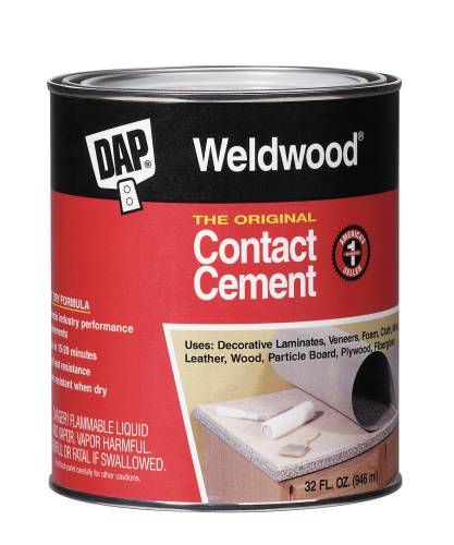 DAP� WELDWOOD ORIGINAL CONTACT CEMENT 1 QUART