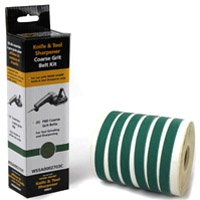 Drill Doctor WSSA0002703C Replacement Abrasive Belt Kit, 6 Pieces