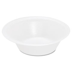 Concorde Foam Bowl, 10 12oz, White, 125/Pack, 8 Packs/Carton