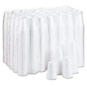 Drink Foam Cups, 12oz, 25/Pack