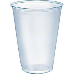Solo Cup Company Ultra Clear Cups, Tall, 10 oz, PET, 50/Pack