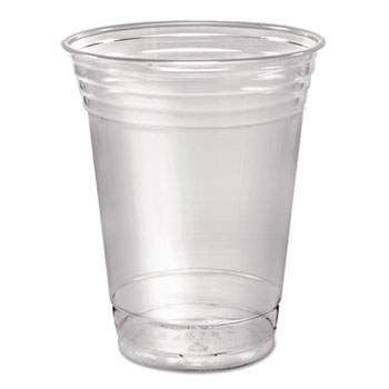 Ultra Clear Cups, Squat, 16-18 oz, PET, 50/Pack