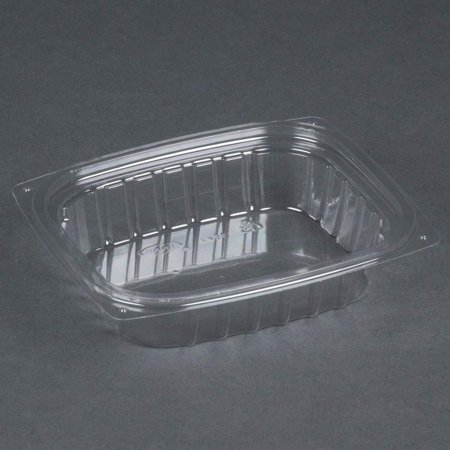 ClearPac Clear Container, 8 oz, 5.9 x 4.9 x 1.3, Clear, 1008/Carton