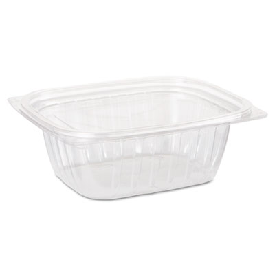 ClearPac Container Lid Combo-Pack, 5-7/8 x 4-7/8 x 2, Clear, 12 oz, 63/Bag