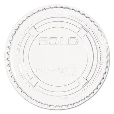 Complements Portion/Medicine Cup Lids, Plastic, Clear, 2500/Carton