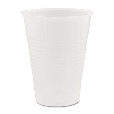 Conex Galaxy Polystyrene Plastic Cold Cups, 9oz, 100 Sleeve, 25 Sleeves/Carton