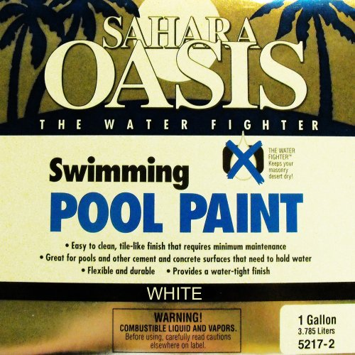 1-GALLON WHITE POOL PAINT