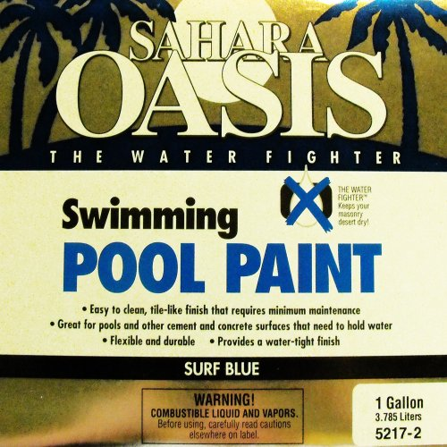 5217-2 1 Gallon Surf Blue Pool Paint