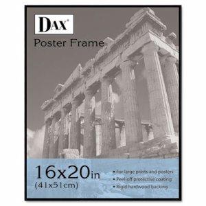 Coloredge Poster Frame, Clear Plastic Window, 16 x 20, Black