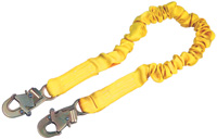 DBI/SALA+ 6' ShockWave2+ Shock Absorbing Lanyard With Self Locking Snap Hooks At Both Ends