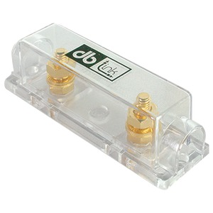 DB LINK ANLFH2 Gold 0/4-Gauge ANL Single Fuse Holder