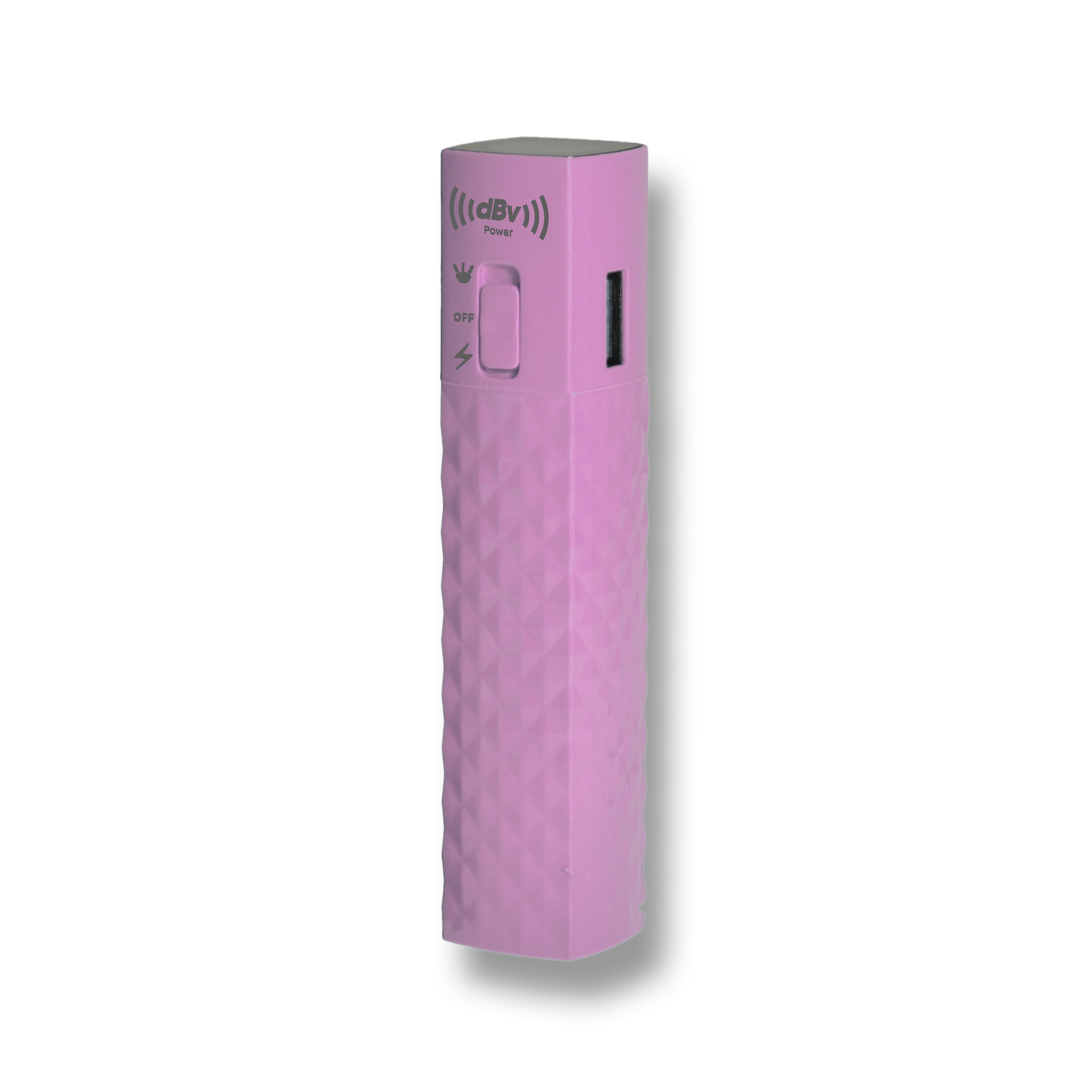 DBV POWER PBS2600PK PINK  COTTON CANDY POWER BANK WITH