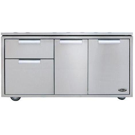 """DCS 70852 48"""" Grill Cart Stainless Steel"""