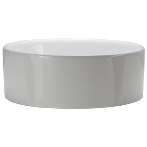 15-1/2 Round Ceramic Lavatory White