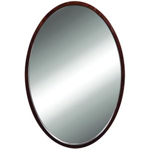 22 Wall Mirror Dark Walnut *lola