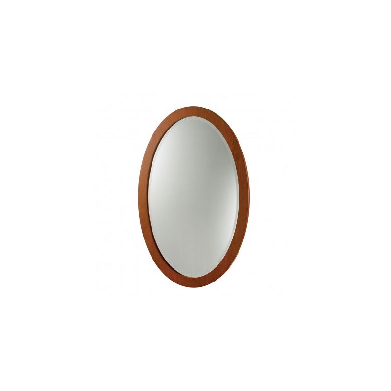 16 X 28 Cherry FRMD OVAL Mirror *CASAYA