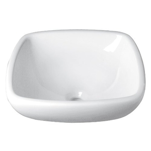Square Ceramic White Vitreous China V