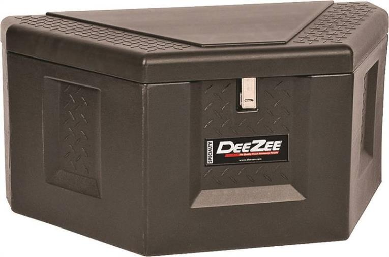 Dee Zee DZ 91717P Triangle Trailer Box, 18-3/4 in W x 36 in Back X 18-1/4 in Front D x 19 in H