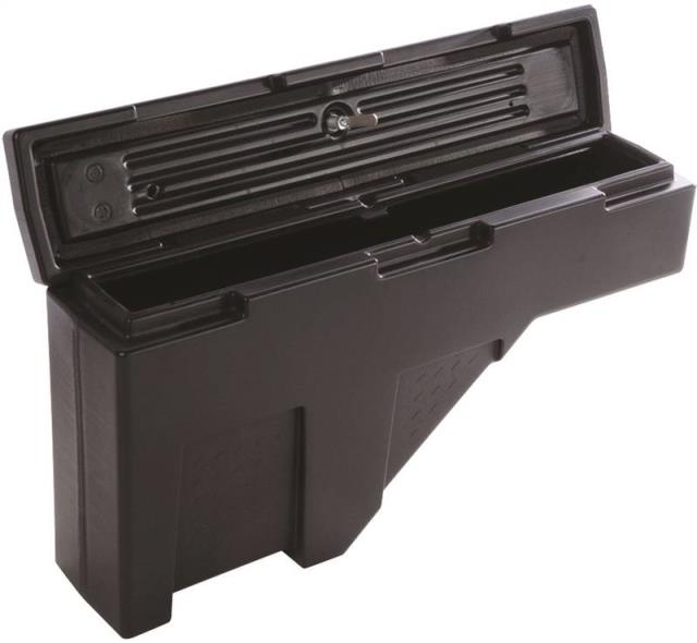 Dee Zee DZ 95P Wheel Well Tool Box, 7-3/4 in W x 37 in D x 20-1/2 in H, 2.2 cu-ft Capacity