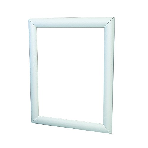 Wall Mount Display Frame, 11 x 17, Silver Aluminum