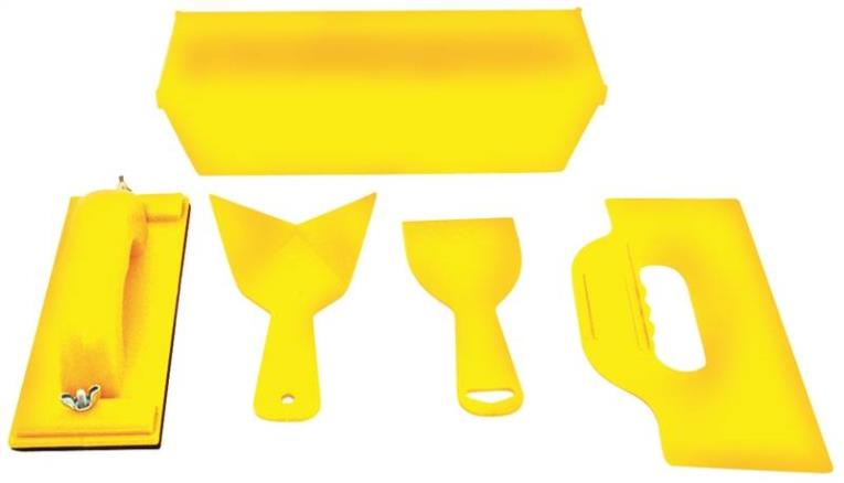 Homax 89 Heavy Duty Block Sander Kit, Plastic, Yellow