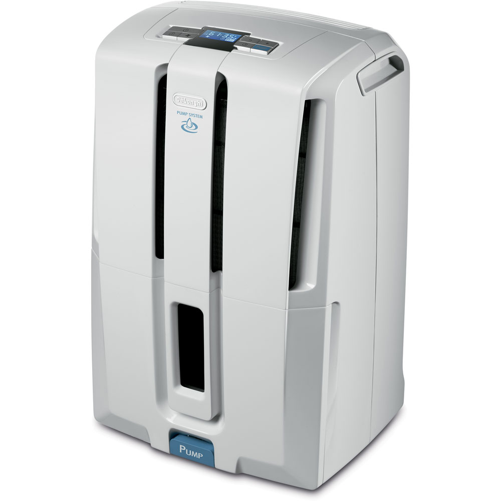 50 Pint Dehumidifier with Low Temp and Patented Pump