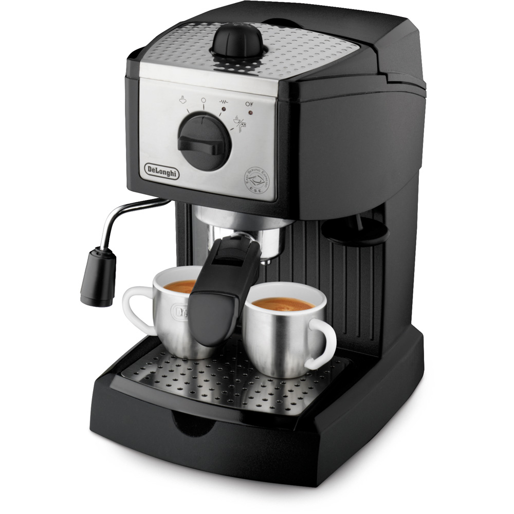 35-Ounce Pump Espresso Maker, Black