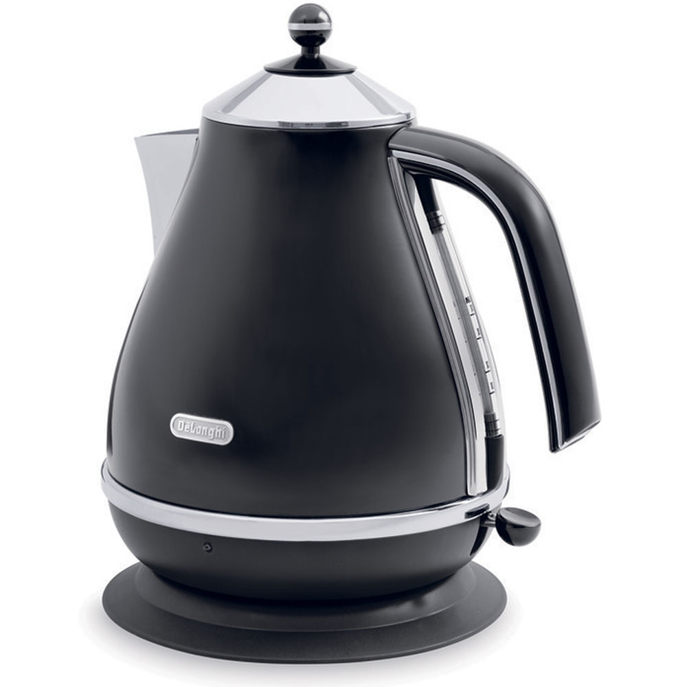 Icona Electric Kettle, Black