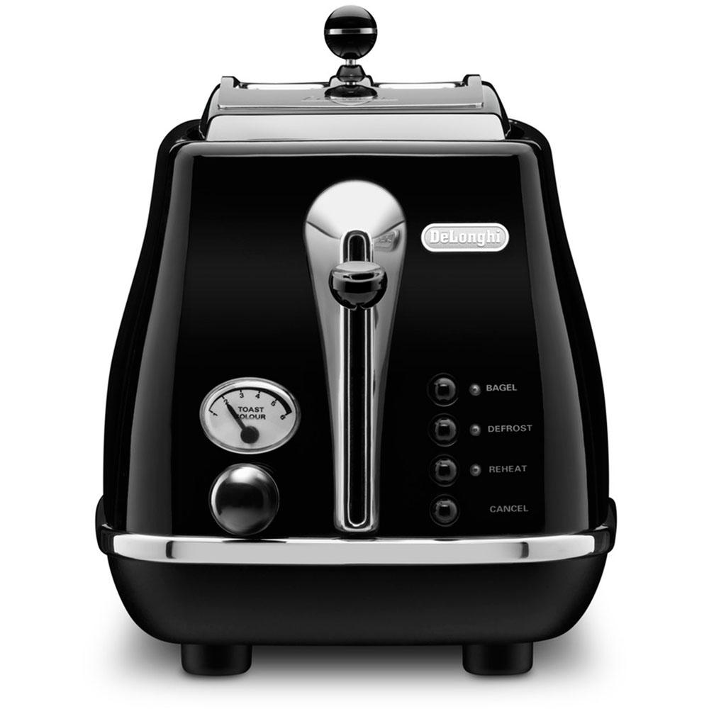 Icona 2-Slice Toaster, Black