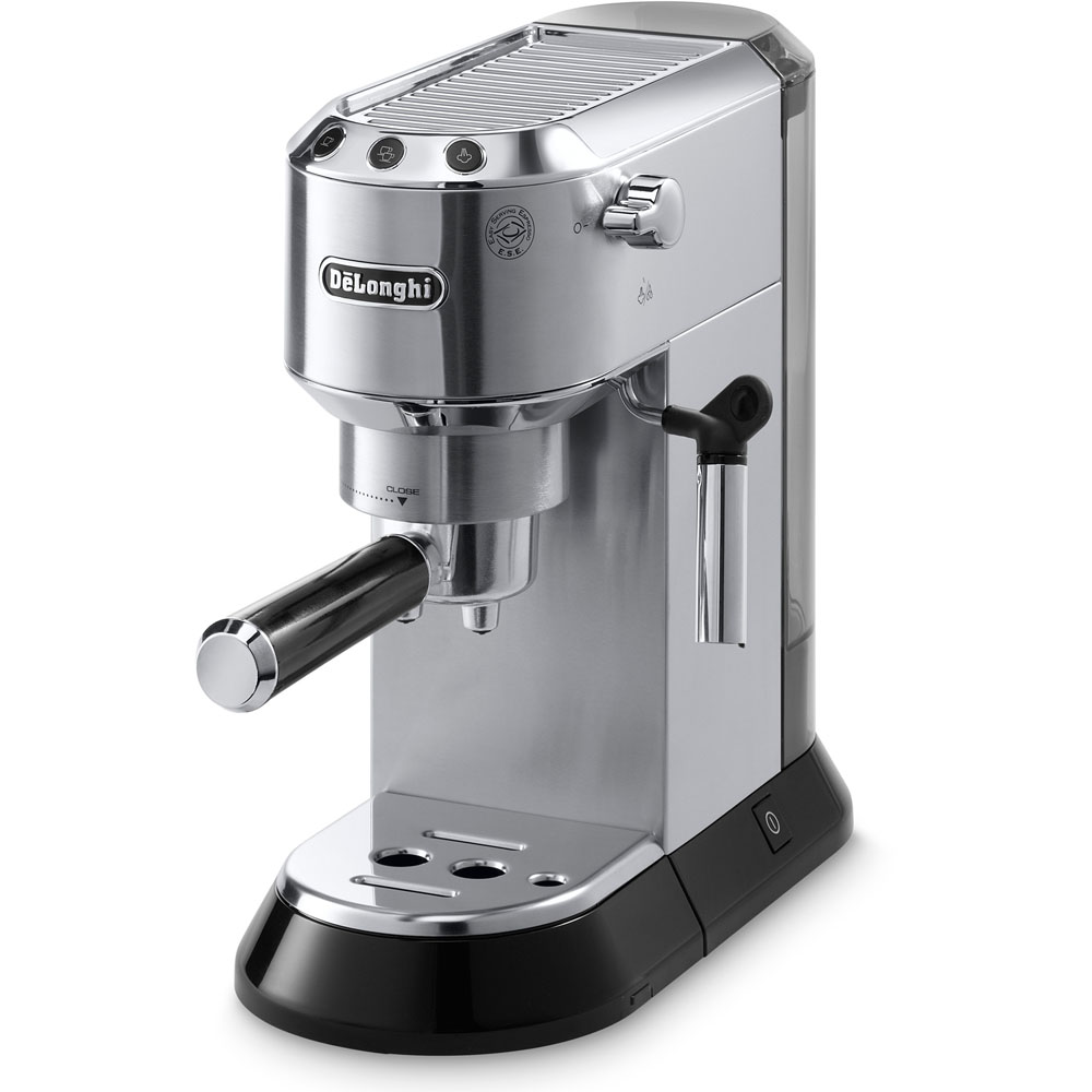 Dedica 15 Bar Pump Espresso Machine with Cappuccino Feature