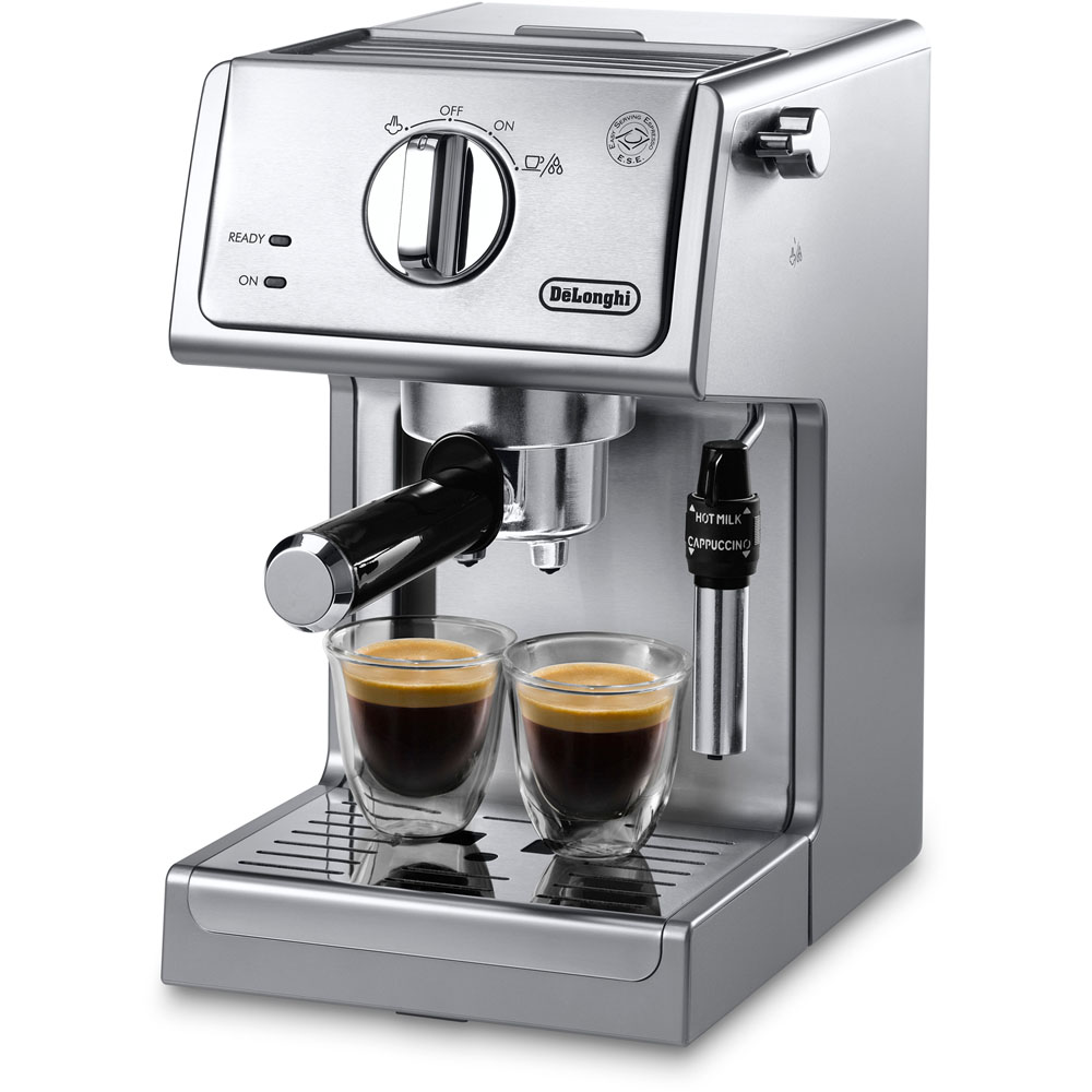 15-Bar Pump Espresso and Cappuccino Machine, Adjustable Advance