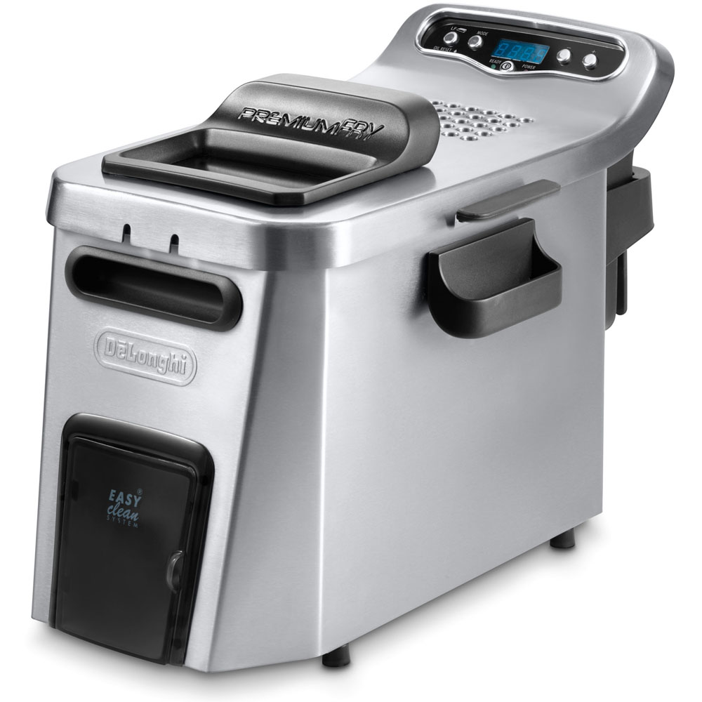 Deep fryer, dual zone digital