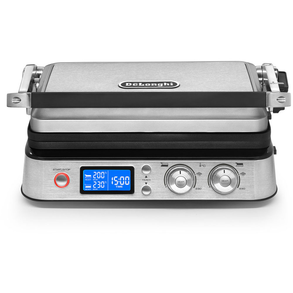 Livenza All Day Grill, Digital LCD Display, Adjustable Hinge
