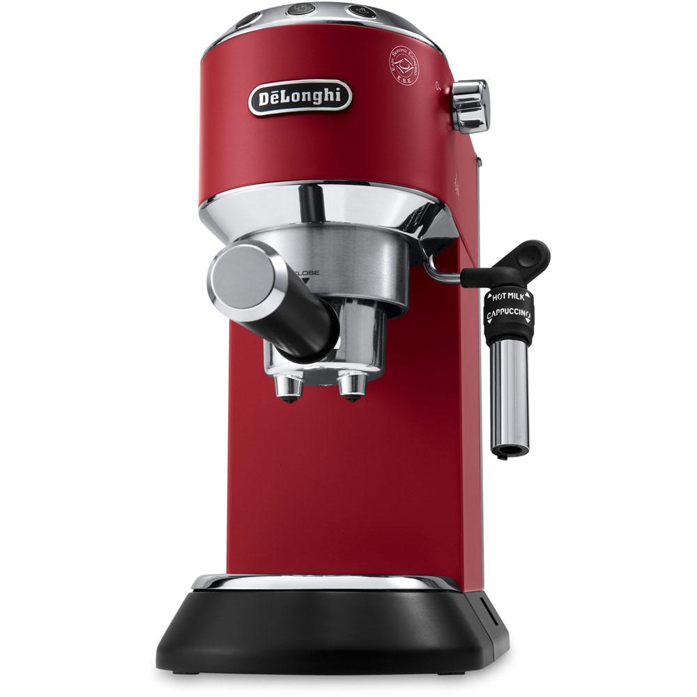 Dedica Deluxe 15 Bar Pump Espresso Machine with Cappuccino Feature