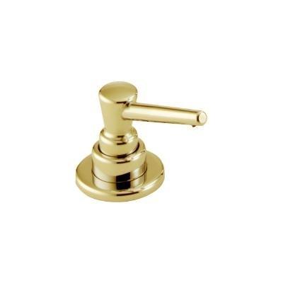 Soap Lotion Dispenser Polished Brass