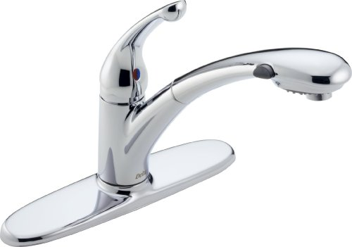 Signature® Single Handle Pull-Out Kitchen Faucet, Chrome