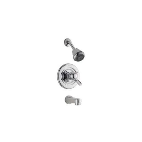 DELTA MONITOR TUB AND SHOWER TRIM KIT CHROME