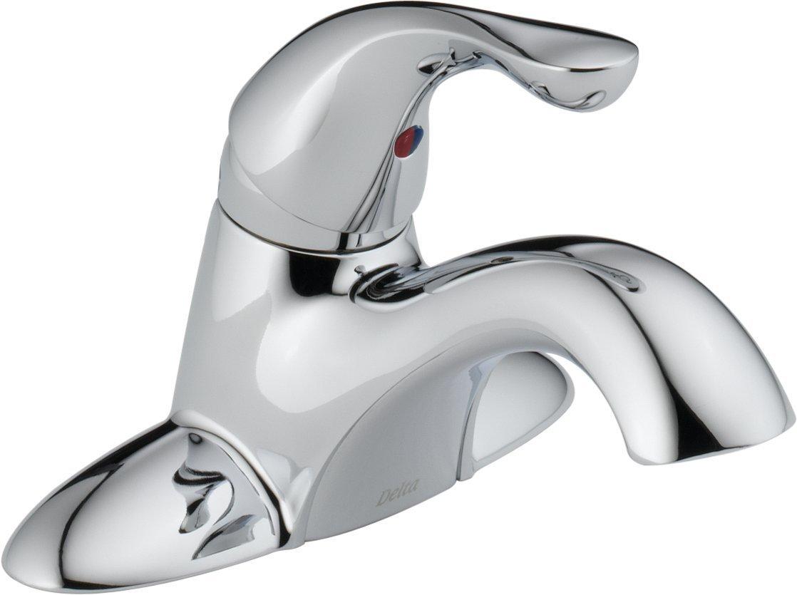 1.20 gpm Classic Single Handle Centerset Lavatory Faucet with Less Pop-Up, Chrome